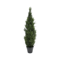 Artificial shrub, 4' Cedar