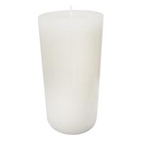 White pillar candle 3 x 6'', gardenia scent