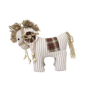 Patterned decorative horse 9,5 x 5 x 8''