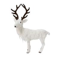Chevreuil blanc 15 x 8,5 x 17,3''