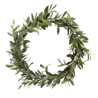 20'' Olive foliage wreath