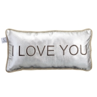 I Love You Pillow, 12x23''