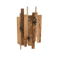 Crochets muraux sur bois de grange