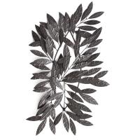 Décor mural de feuille en métal23,6x1,6x43,3''