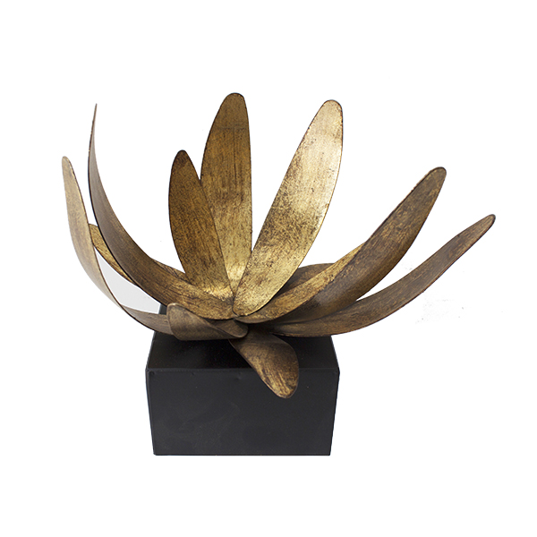 Deco murale metal fleur for Decoration murale en metal noir