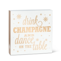 Champagne Quote Block