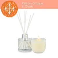 2 Pieces persian orange & cassis gift set