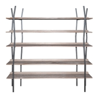 Five-Level Shelving Unit