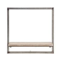 Metal Shelf, 15 x 15''