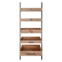 Shelving Unit with Box Shelves