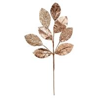 Feuillage de magnolia rose or 27''
