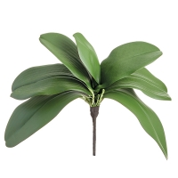 Faux feuillage d'orchidée, 12''