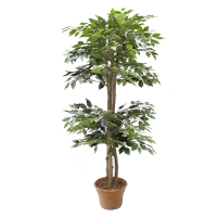 5' Artificial tree, green ficus