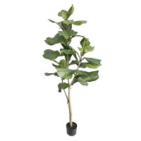 5' Artificial Fiddle Leaf Fig Tree