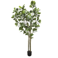 9' Artificial Fiddle Leaf Fig Tree