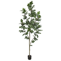 7' Artificial Fig Tree