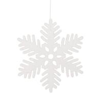 Flocon de neige brillant 11''
