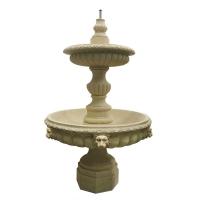 Marble dust fountain