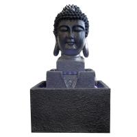 Fontaine tête de bouddha 19x16x33''
