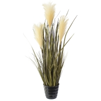 Artificial plant, 30'' Bulrush grass
