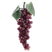 Grappe de petits raisins rouges 9''