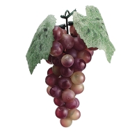 Plastic Green & Red Grapes, 7''