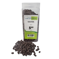 Brown decorative gravel 850g