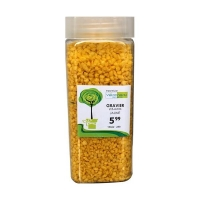 Yellow stones 2.5-4 mm in a jar of 550 ml / 850 gr