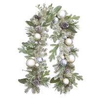 Decorated Mixed garland, 6'