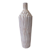 Tall bottle-shaped vase 24,5''