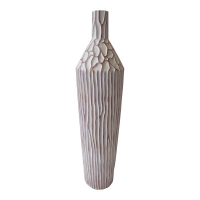 Tall bottle-shaped vase 30''