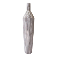 Tall bottle-shaped vase 35,5''
