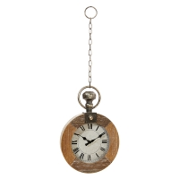 Horloge décorative, 17''