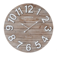 Wood Wall Clock, 31,5''