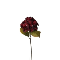 Artificial flower burgundy Hydrangea 25