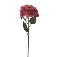 Fleur artificielle Hydrangée rose 29