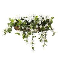 Jardinière d'hibiscus blancs 28''