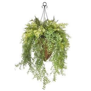 Jardinière suspendue extérieur, verdure