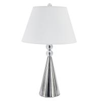 Lampe de table crystal, fini chrome