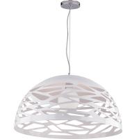 lampe suspendue, couleur blanche