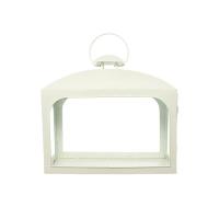 Lanterne blanche, 10 X 5.5 X 13.5''