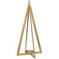 Lanterne conique dorée, 20''