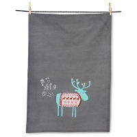 Silly Moose Tea Towel