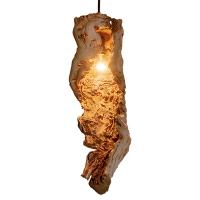 Wood Light Fixture