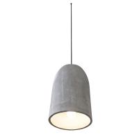Luminaire moderne gris 16.5 x 11 x 11''
