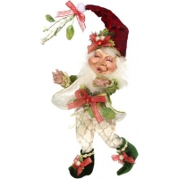 Mistletoe holly elf 10,5''