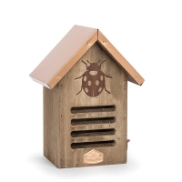 9'' Copper roof bird house