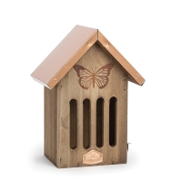 9'' Copper roof butterfly house