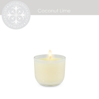 2'' Mini coconut & lime candle