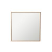 Miroir 12 x 12'', contour cuivre